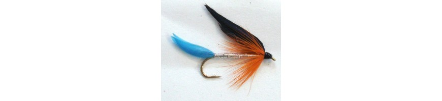 Single Salmon Hooks