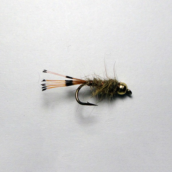 Hares Ear Pearl Tippet Tail