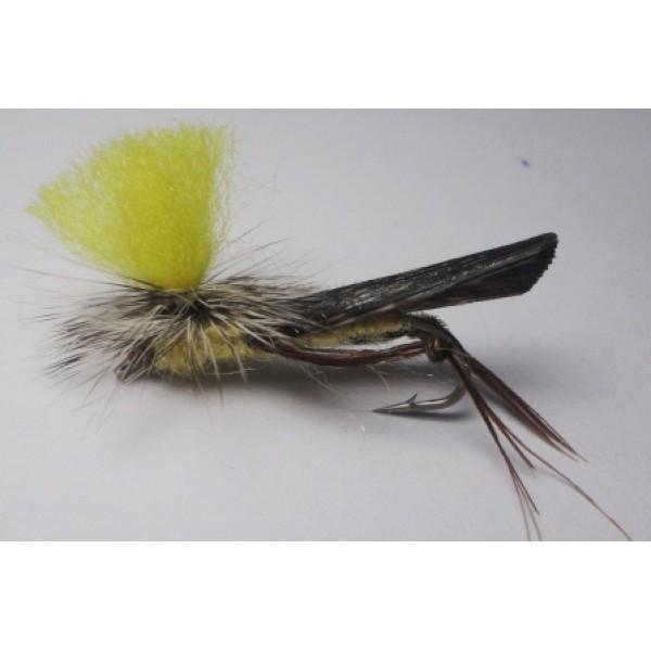 Schroeders Hi-Vis Yellow Stone Fly